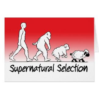 Supernatural Selection Greeting Card