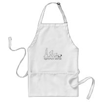 Supernatural Selection - From Man to Sheep! Adult Apron