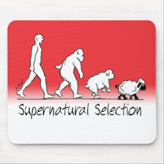 Supernatural Selection - From Man to Sheep! Mouse Pad