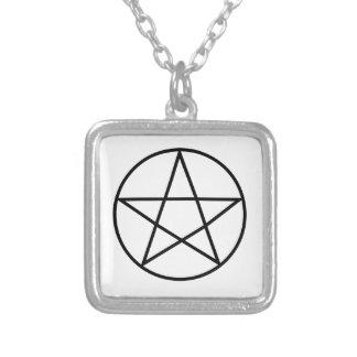 Supernatural Symbol Series #4 Square Pendant Necklace