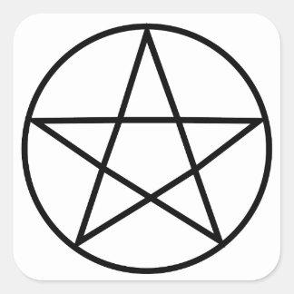 Supernatural Symbol Series #4 Square Sticker