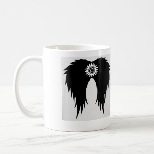 Supernatural Wings Mug