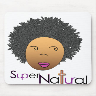 Supernaturally on the World Wide Web Mousepad