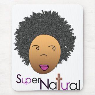 Supernaturally on the World Wide Web Mouse Pad