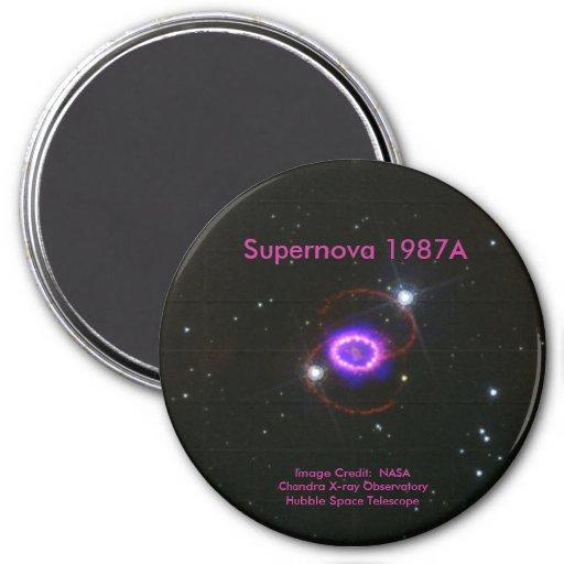 Supernova 1987A Imán Redondo 7 Cm