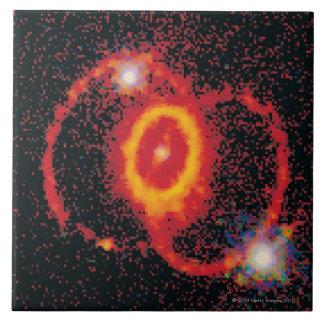 Supernova 2 azulejo cuadrado grande