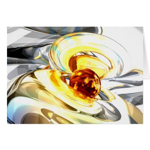 Supernova Abstract Card