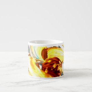 Supernova Abstract Espresso Cup