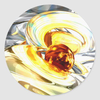 Supernova Abstract Sticker