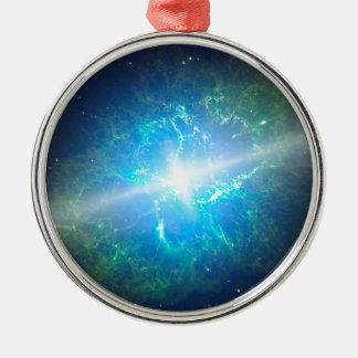 Supernova Adorno Navideño Redondo De Metal