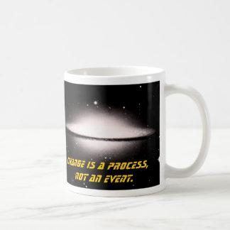 Supernova, Change is a process, not an event Classic White Coffee Mug