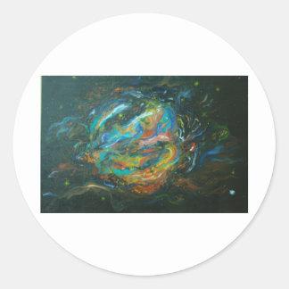 Supernova Classic Round Sticker