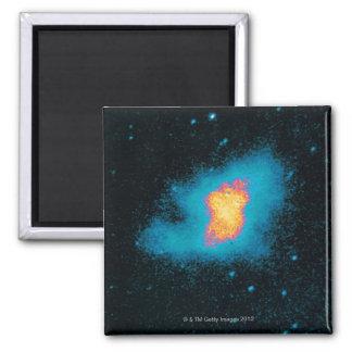Supernova de la nebulosa de cangrejo imán cuadrado