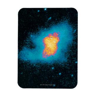 Supernova de la nebulosa de cangrejo imanes rectangulares