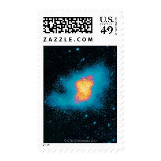 Supernova de la nebulosa de cangrejo sello postal