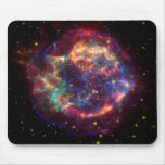 Supernova de NASAs Cassiopeaia Tapetes De Ratones