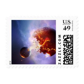 Supernova Explosion Postage Stamps