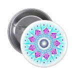 Supernova Flower Air Badge Buttons