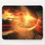 Supernova Fractal Mouse Pad