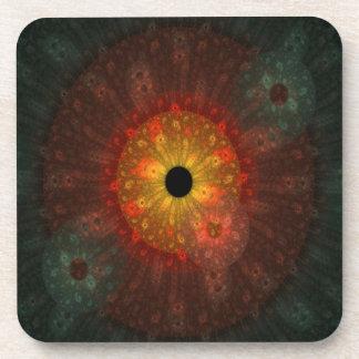 Supernova Fractal Mousepad Beverage Coaster