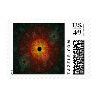 Supernova Fractal Postage