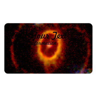 Supernova Halo for a Vanished Star Business Card Templates