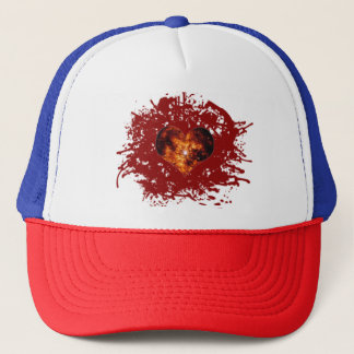 Supernova Heart Galaxy Trucker Hat