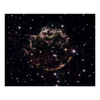 Supernova in Cassiopeia A 20x16 (20x16) Poster