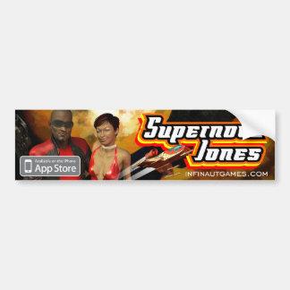 Supernova Jones Car Bumper Sticker