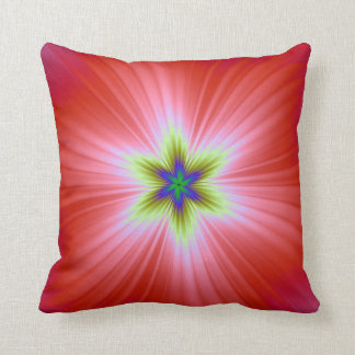 Supernova on Red Pillows