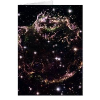 Supernova Remnant Cassiopeia A - December 2004 Card
