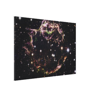 Supernova Remnant Cassiopeia A - March 2004 Canvas Print