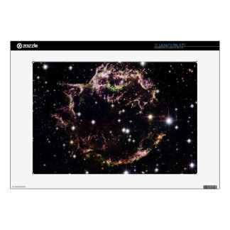 """Supernova Remnant Cassiopeia A - March 2004 Decals For 15"""" Laptops"""