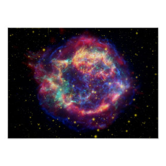 supernova remnant Cassiopeia A Posters