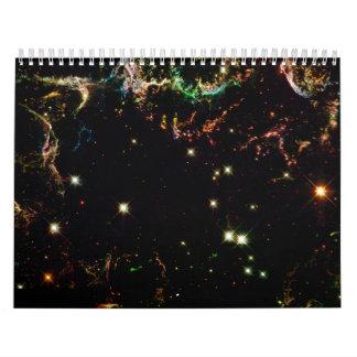 Supernova Remnant Cassiopeia Wall Calendar