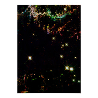 Supernova Remnant Cassiopeia Posters