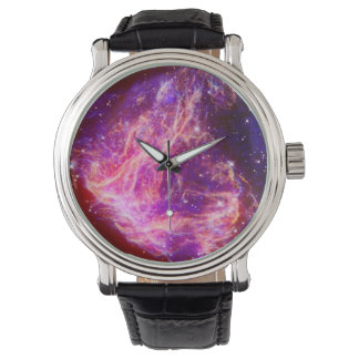 Supernova Remnant N49 Wristwatch