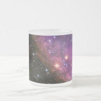 Supernova Remnant SNR E0102 10 Oz Frosted Glass Coffee Mug