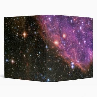 Supernova Remnant SNR E0102 3 Ring Binder