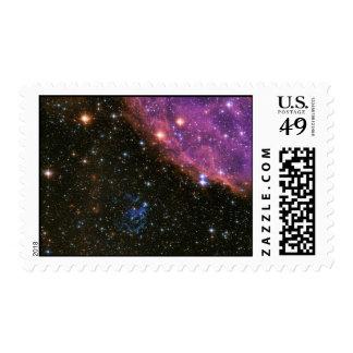Supernova Remnant SNR E0102 Postage Stamp