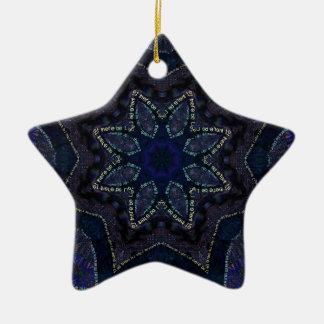 Supernova Star Power Ceramic Ornament