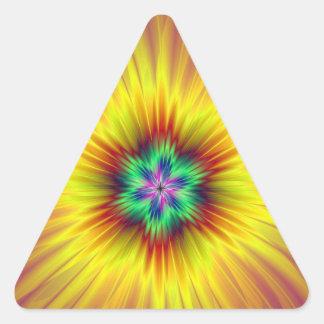 Supernova Triangle Sticker