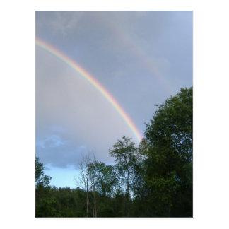 Supernumerary Rainbow Postcard