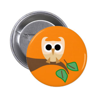 SuperOwl10 Pinback Button