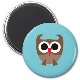 SuperOwl2 2 Inch Round Magnet