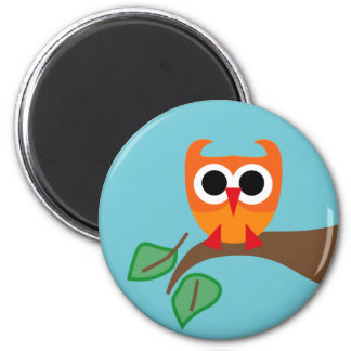 SuperOwl4 2 Inch Round Magnet