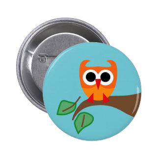 SuperOwl4 Pinback Button