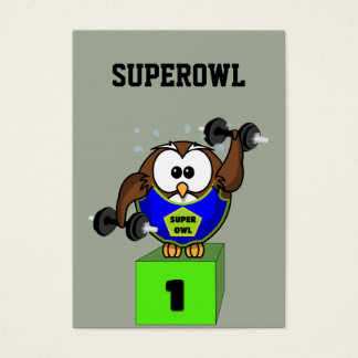 SuperOwl Business Card
