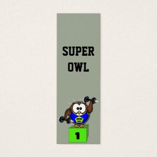 SuperOwl Mini Business Card