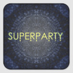 SUPERPARTY STICKER